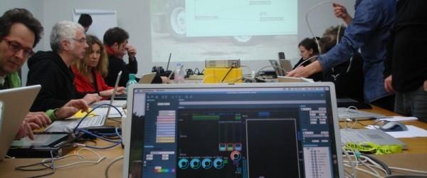 Tech Meeting #1: JazzMutant's Lemur Multitouch interface