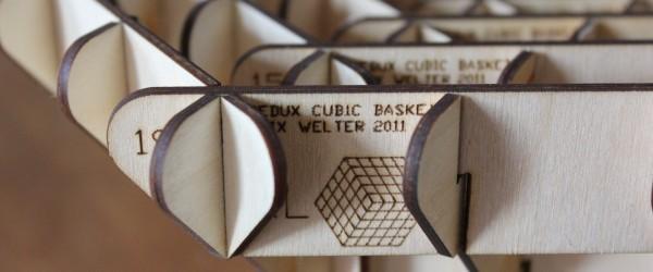 Alix Welter: Redux Cubic Baskets