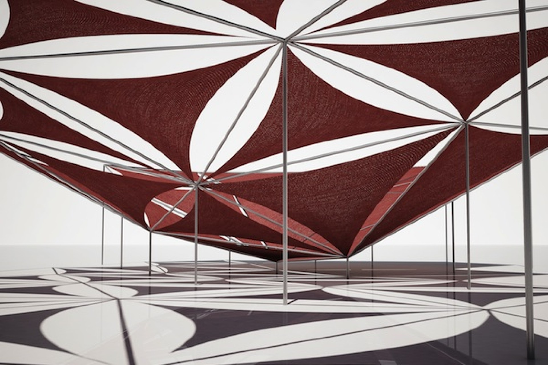 Kinetic Pavilion by Elise Elsacker and Yannick Bontinckx