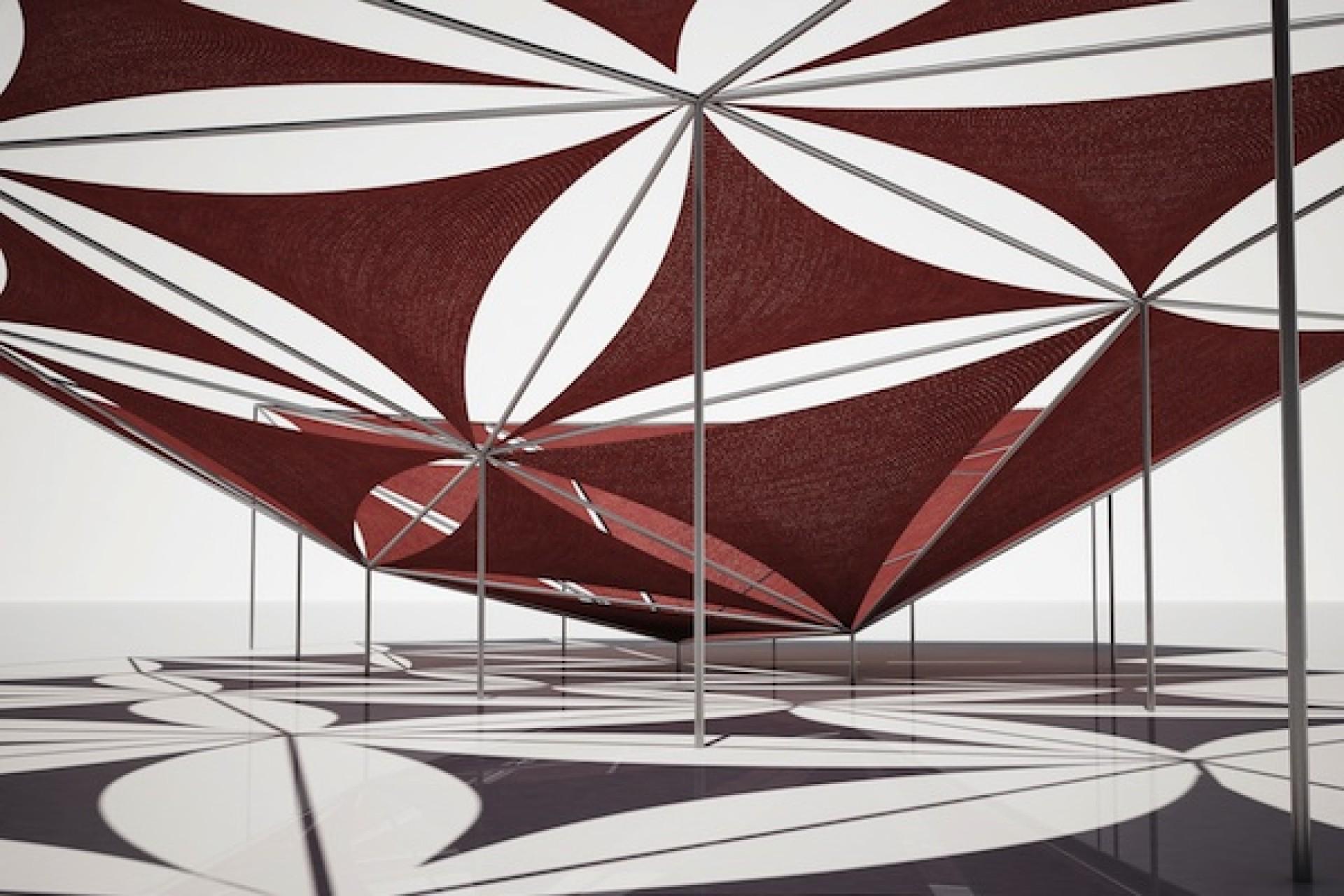 Kinetic Pavilion by Elise Elsacker and Yannick Bontinckx