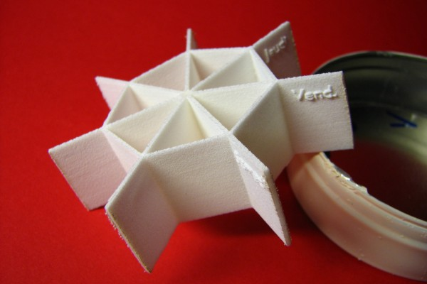 3D Printed Weekly Pillbox Interior by fdecomite