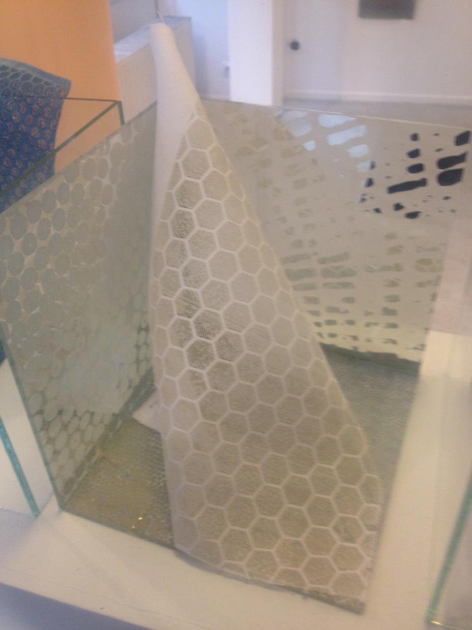 Expo fin d'année La Cambre Design Textile au MAD